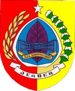 Kabupaten Jember Wikipedia Bahasa Indonesia Ensiklopedia Bebas Lambang Resmi Kimo