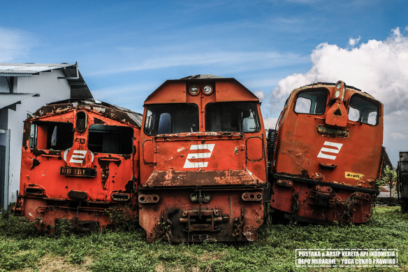 Jalan Baja Pustaka Arsip Kereta Api Indonesia Depo Medarrie Img