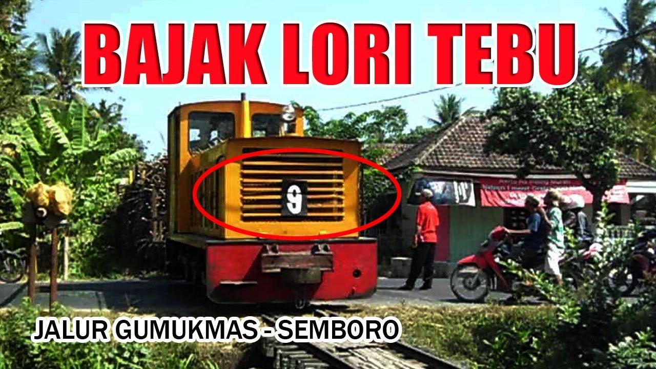 Kereta Lori Lewat Tebu Pun Disikat Youtube Orit Jember Loko