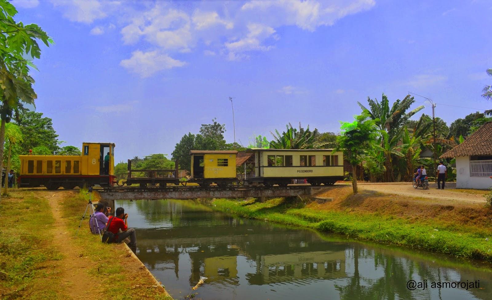 Lori Tebu Kereta Uap Peninggalan Belanda Pg Semboro Tanggul Jawa