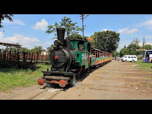 Lori Tebu Pg Kedawung Crossing Rel Kereta Api Daop 9