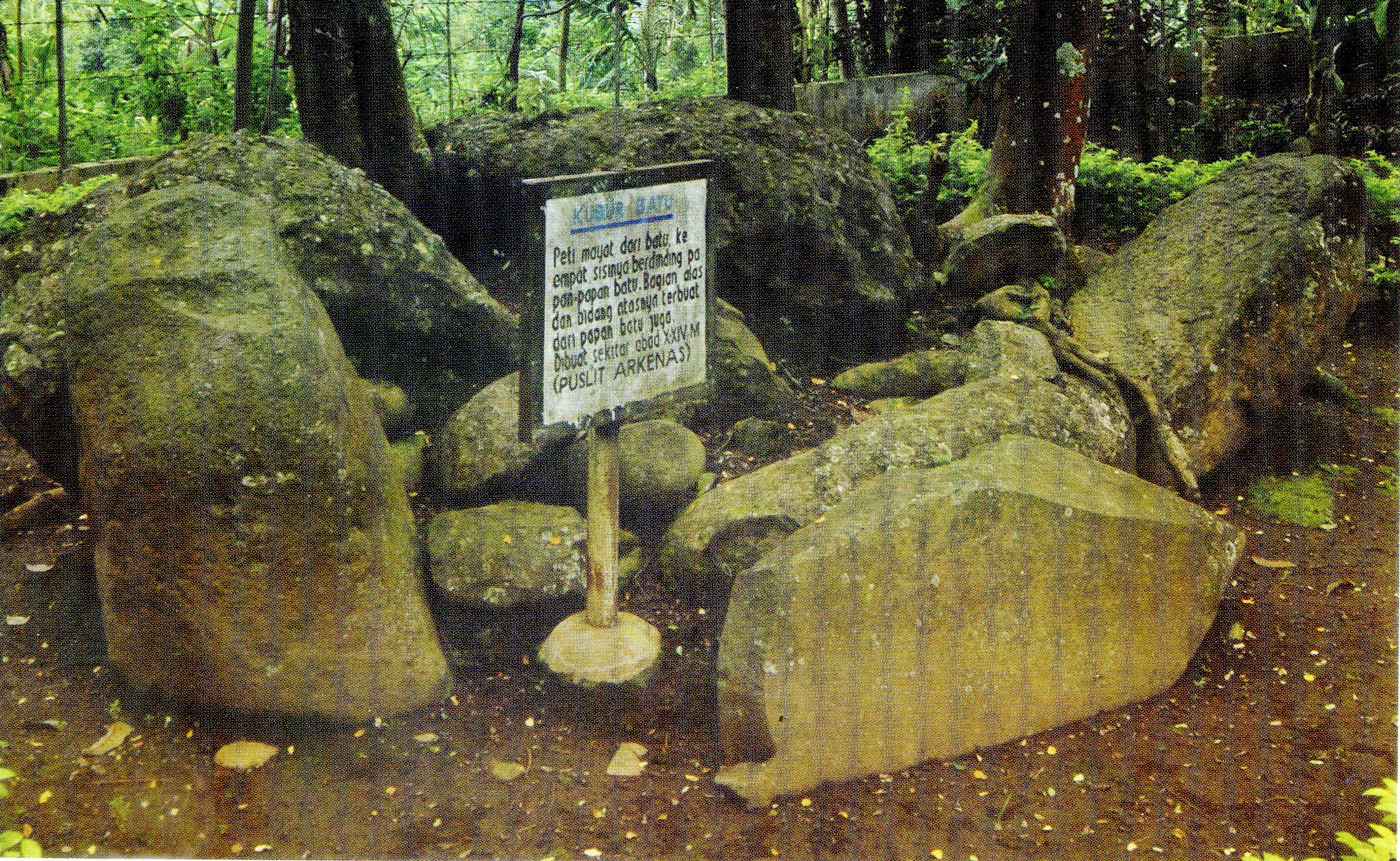 Batu Terkubur Kabupaten Jember Pusaka Jawatimuran Museum Huruf Kab