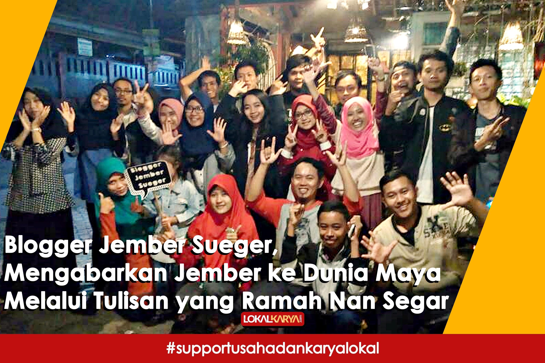 Blogger Jember Sueger Lokal Karya Museum Huruf Kab
