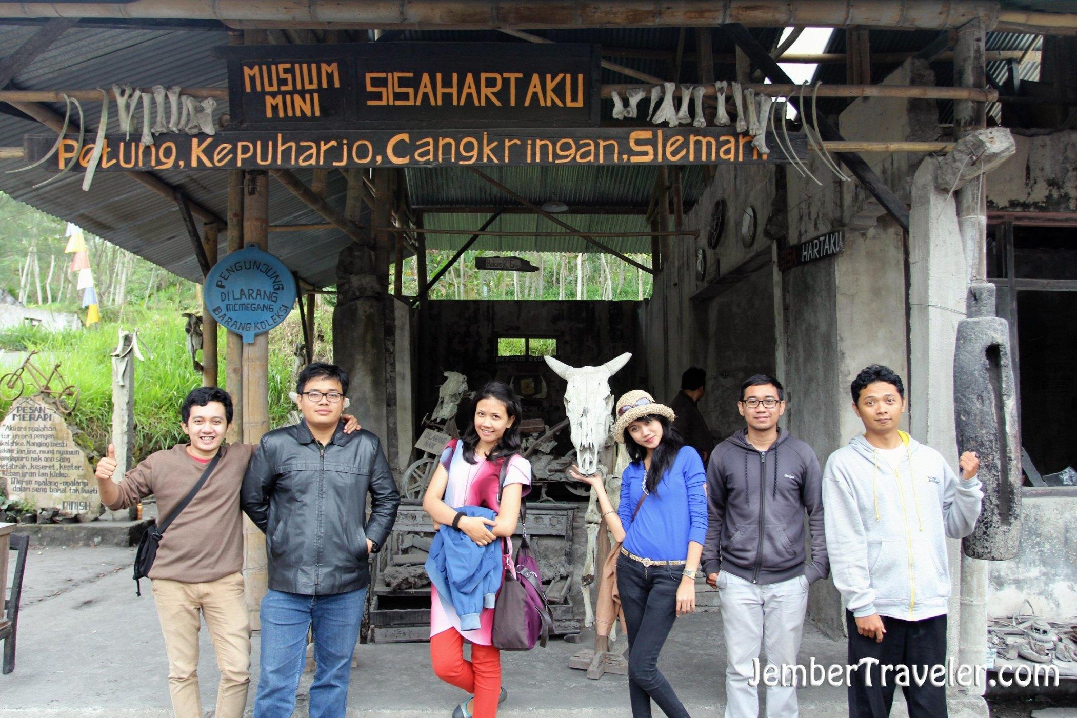 Museum Sisa Hartaku Nostalgia Dasyatnya Gunung Merapi Jember Huruf Kab