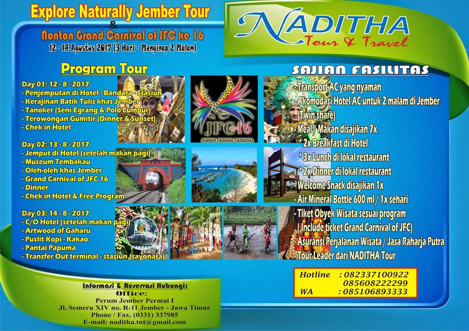 Naditha Prima Citra Wisata Juni 2017 Explore Naturally Jember Grand