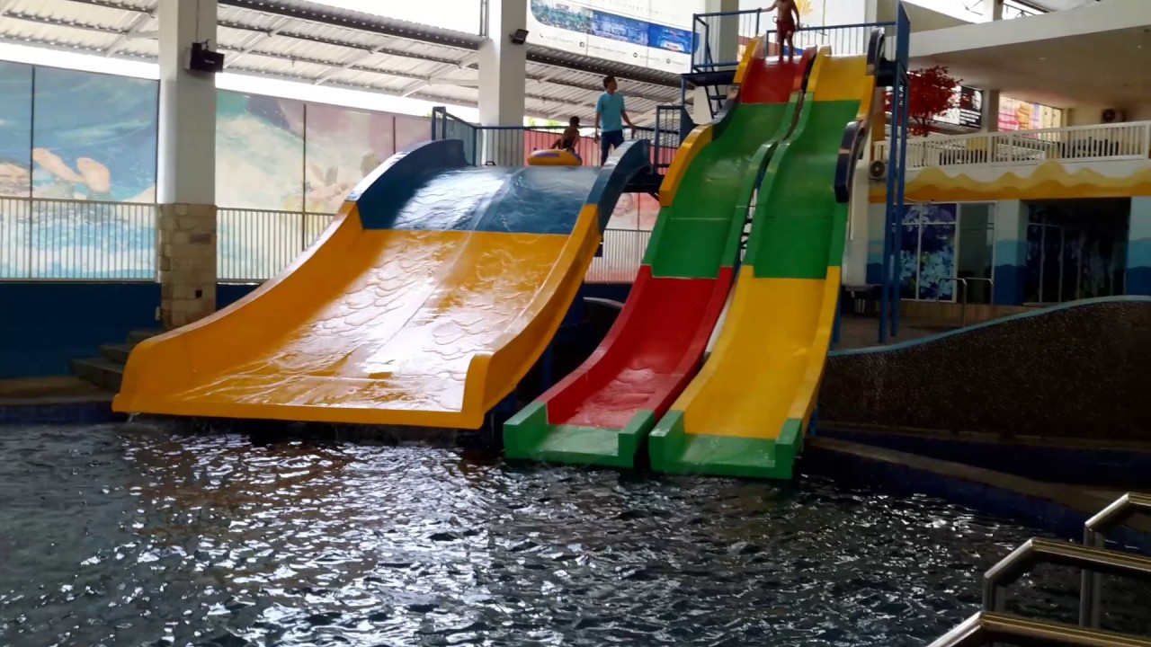 Cempaka Waterboom Jember Youtube Nongai Kab