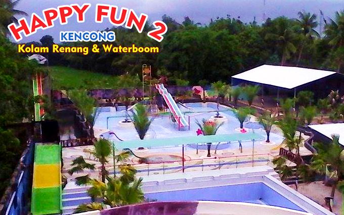 Serunya Wisata Kolam Renang Waterboom Happy Fun 2 Kencong Jember