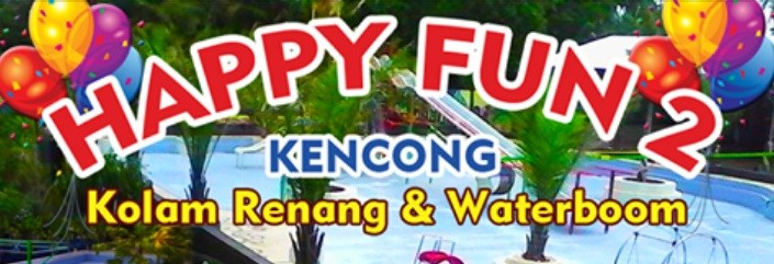 Tiket Masuk Waterboom Happy Fun 2 Kencong Jember Nongai Kab