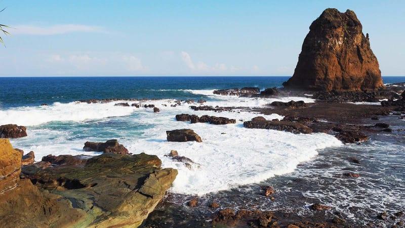 Caranya Menikmati Pantai Papuma Jember Maksimal Kumparan Kab