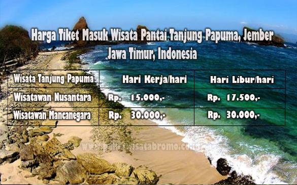 Harga Tiket Masuk Wisata Pantai Papuma Paket Bromo Kab Jember