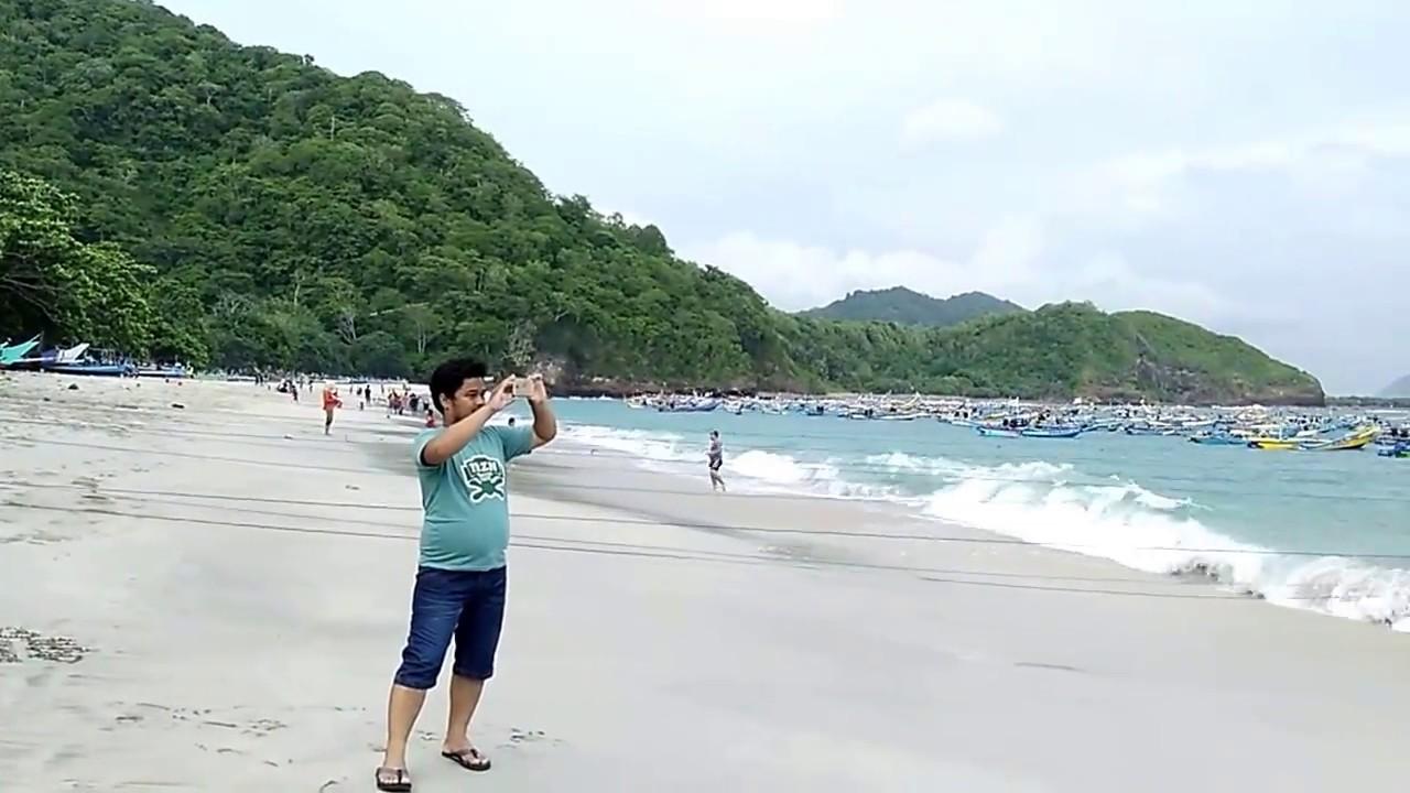 Keindahan Pantai Papuma Jember Jatim Youtube Kab