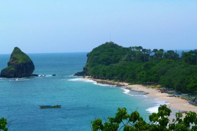 Pantai Papuma Jember Jawa Timur Tiket Masuk Lokasi Peta Eksotis