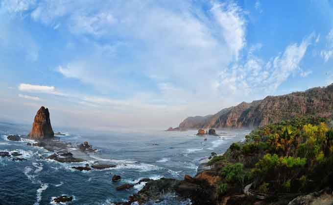 Pantai Papuma Jember Sepotong Surga Timur Jawa Kab
