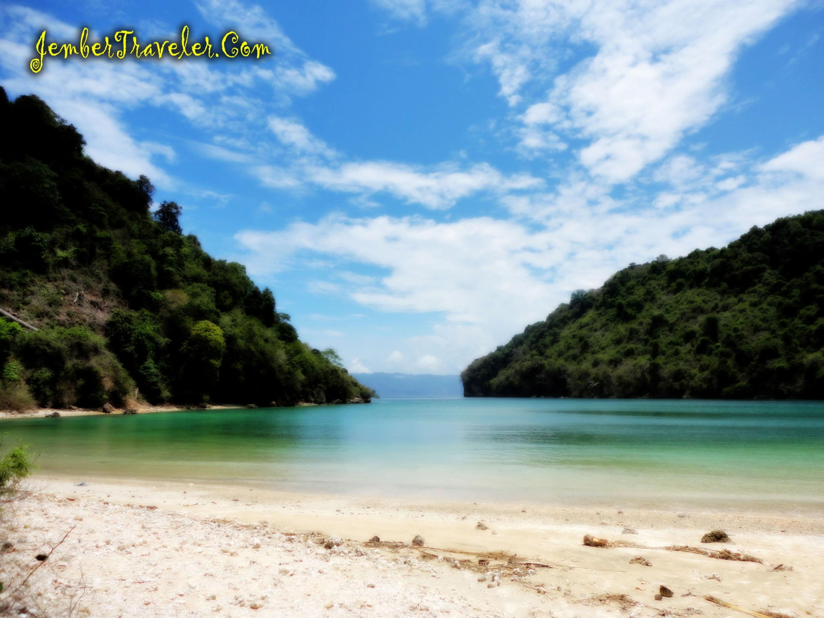 Pantai Papuma Pulau Nusa Barong Part Jember Traveler Teluk Jeruk