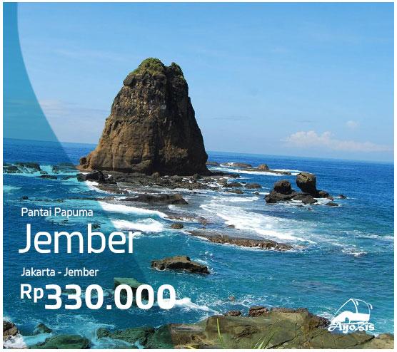 Pantai Papuma Satu Cantik Selatan Jawa Timur Ayobis Jember Bernama