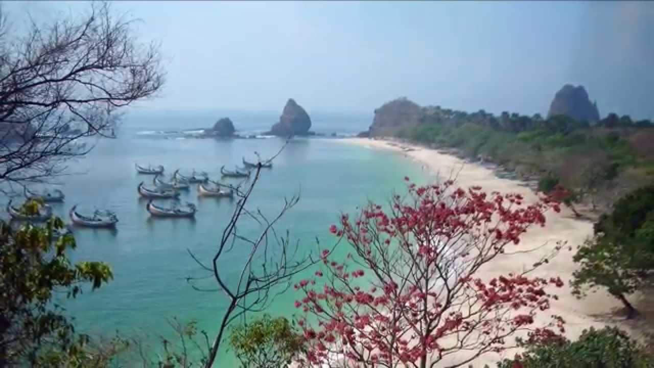 Pantai Papuma Tempat Wisata Jember Jawa Timur Youtube Kab