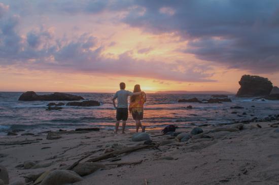 Sunset Papuma Picture Tanjung Jember Tripadvisor Pantai Kab
