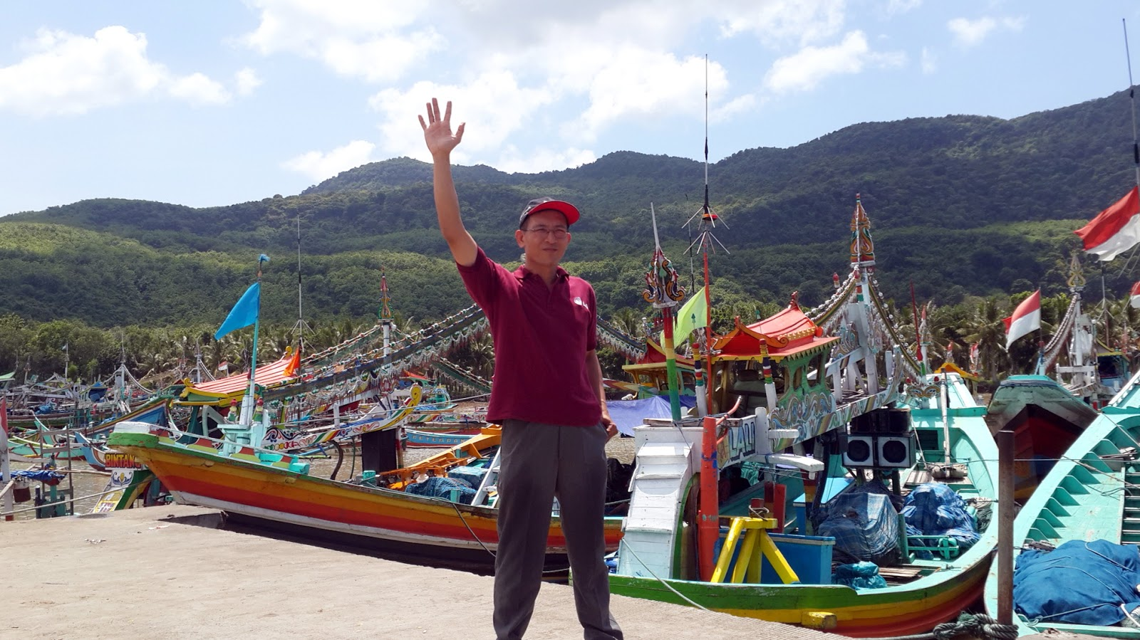 Firdaus Ubaidillah Pantai Nelayan Puger Kabupaten Jember Jawa Timur Bagi