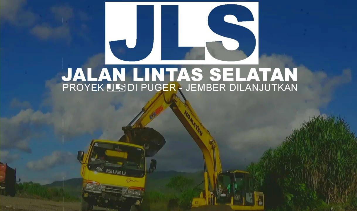 Jalan Lintas Selatan Jls Kabupaten Jember Youtube Pantai Puger Kab