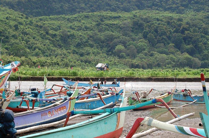 Pantai Pancer Puger Jember Indonesia Kab