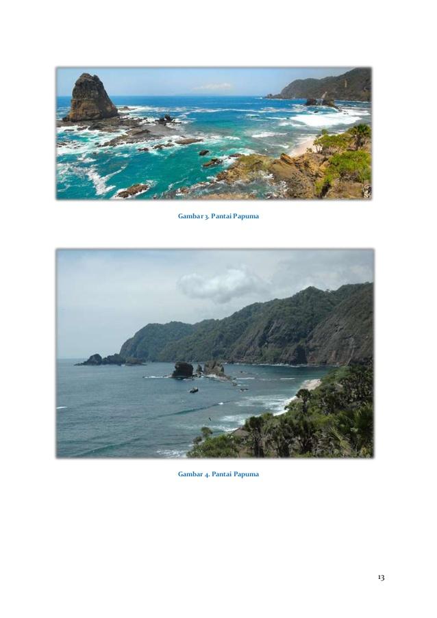 Potensi Wisata Bahari Jember Jawa Timur Pantai Papumagambar 4 Puger