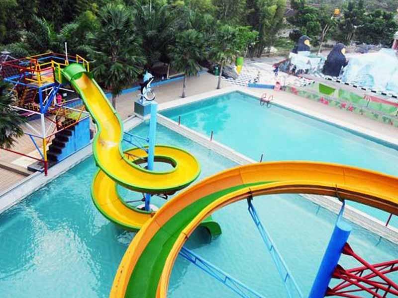 12 Obyek Wisata Jember Patut Dikunjungi Tiara Waterpark Pemandian Patemon