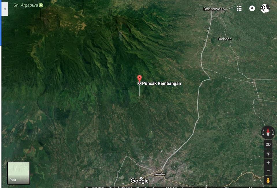 Wisata Jember Rembangan Puncak Kabupaten Jawa Timur Kab