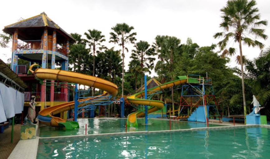 Kolam Renang Tiara Park Waterboom Jember Trip Jalan Taman Air