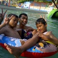 Tiara Jember Park Water Boom Taman Air Foto Diambil Oleh