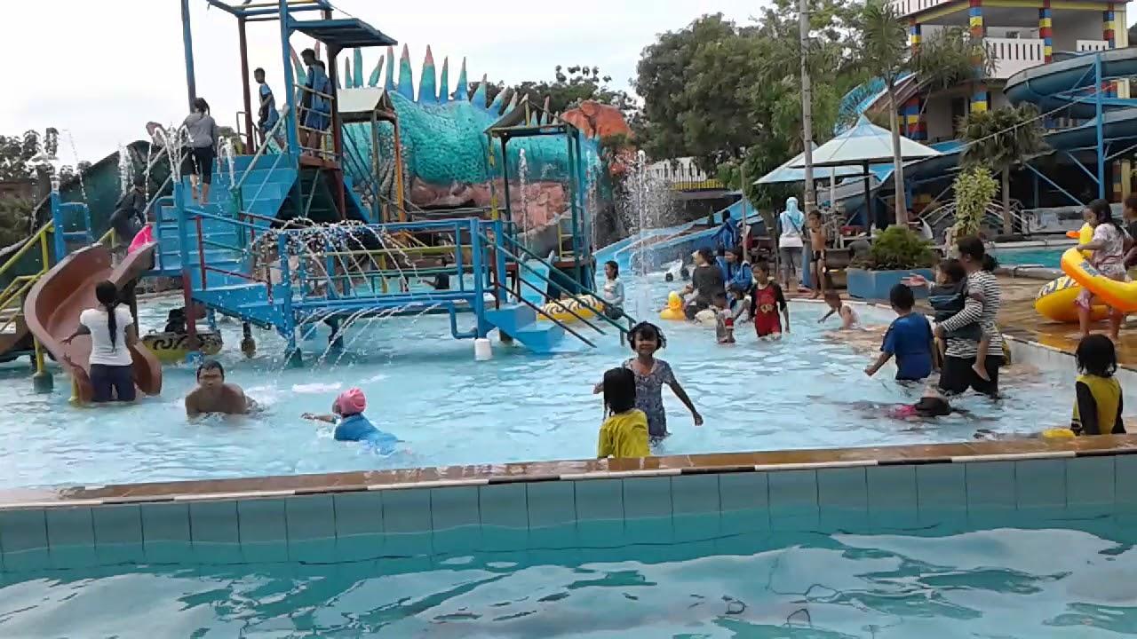 Water Boom Tiara Park Purwogondo Jepara Youtube Taman Air Kab