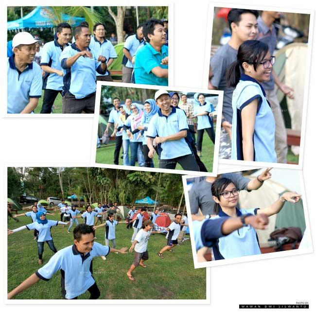 Camping Outbond Taman Botani Sukorambi Jember Olahraga Pagi Kab