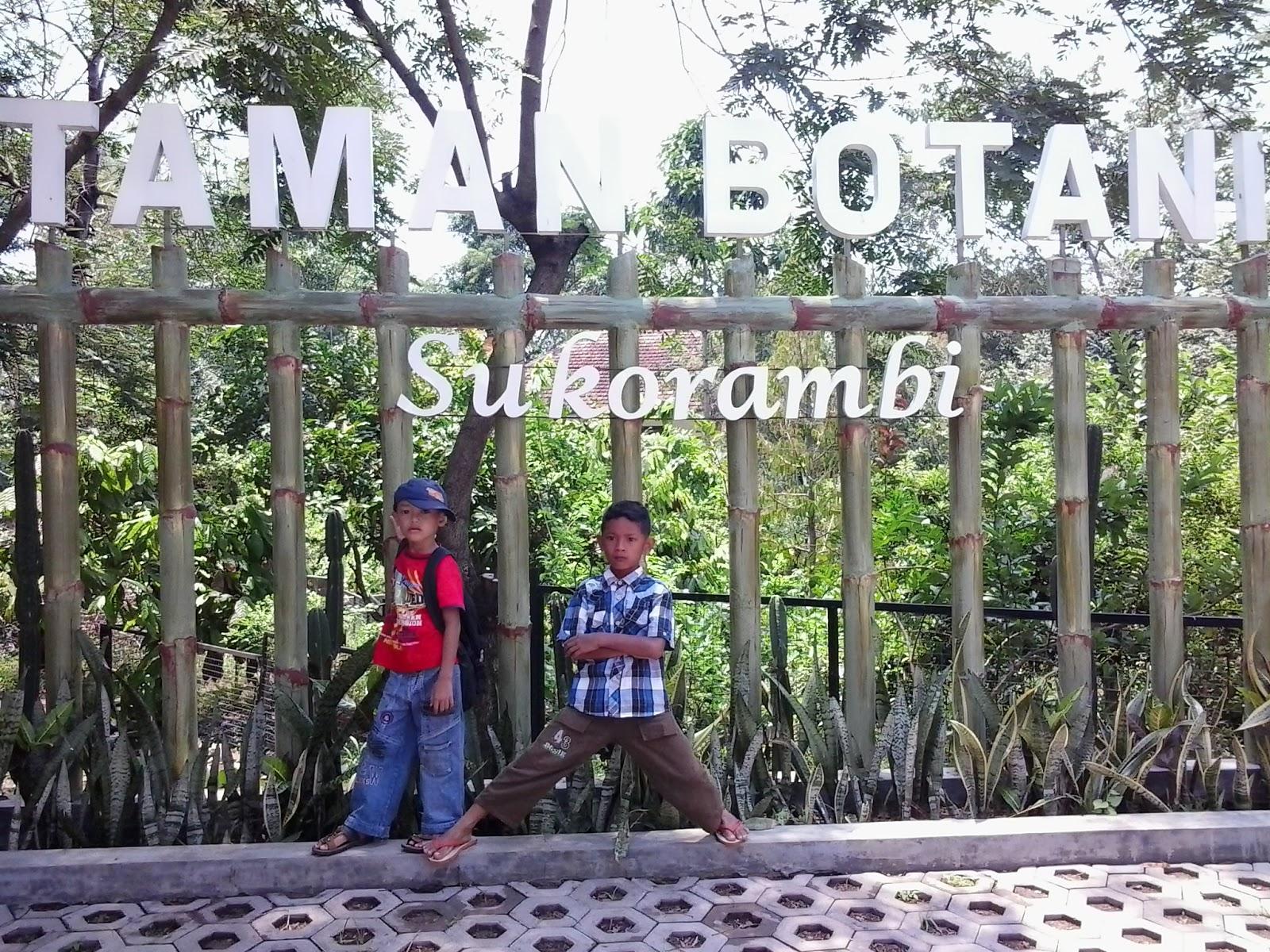 Menghabiskan Weekend Bersama Keluarga Berwisata Taman Botani Sukorambi Kab Jember