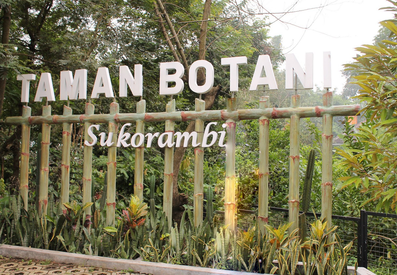 Taman Botani Sukorambi Botanical Garden Blusukan Jember Beragam Hewan Termasuk