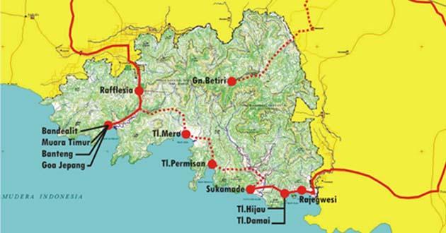 Jelajah Pantai Teluk Ijo Taman Nasional Meru Betiri Lokasi Kab