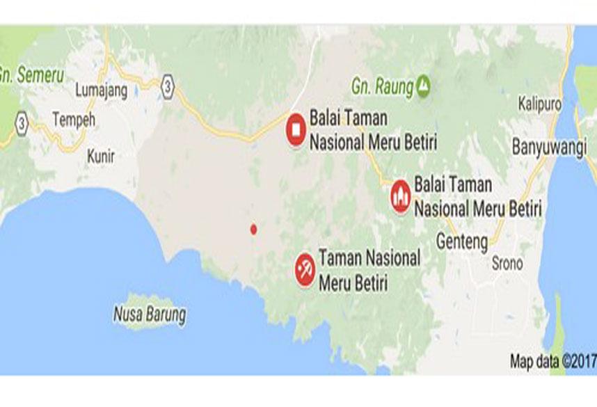 Menelusuri Jejak Manusia Kerdil Meru Betiri Jember Jawa Taman Nasional