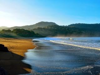 Pantai Bandealit Jember Sepi Asik Bertualang Yuk Piknik Piknikers Traveling