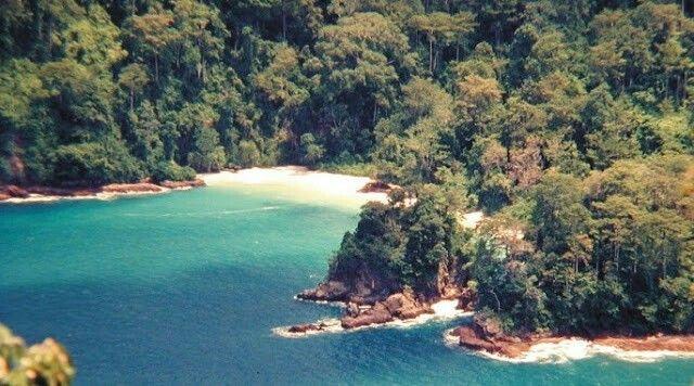 Pantai Bandealit Taman Nasional Meru Betiri Kabupaten Jember Selatan Kab