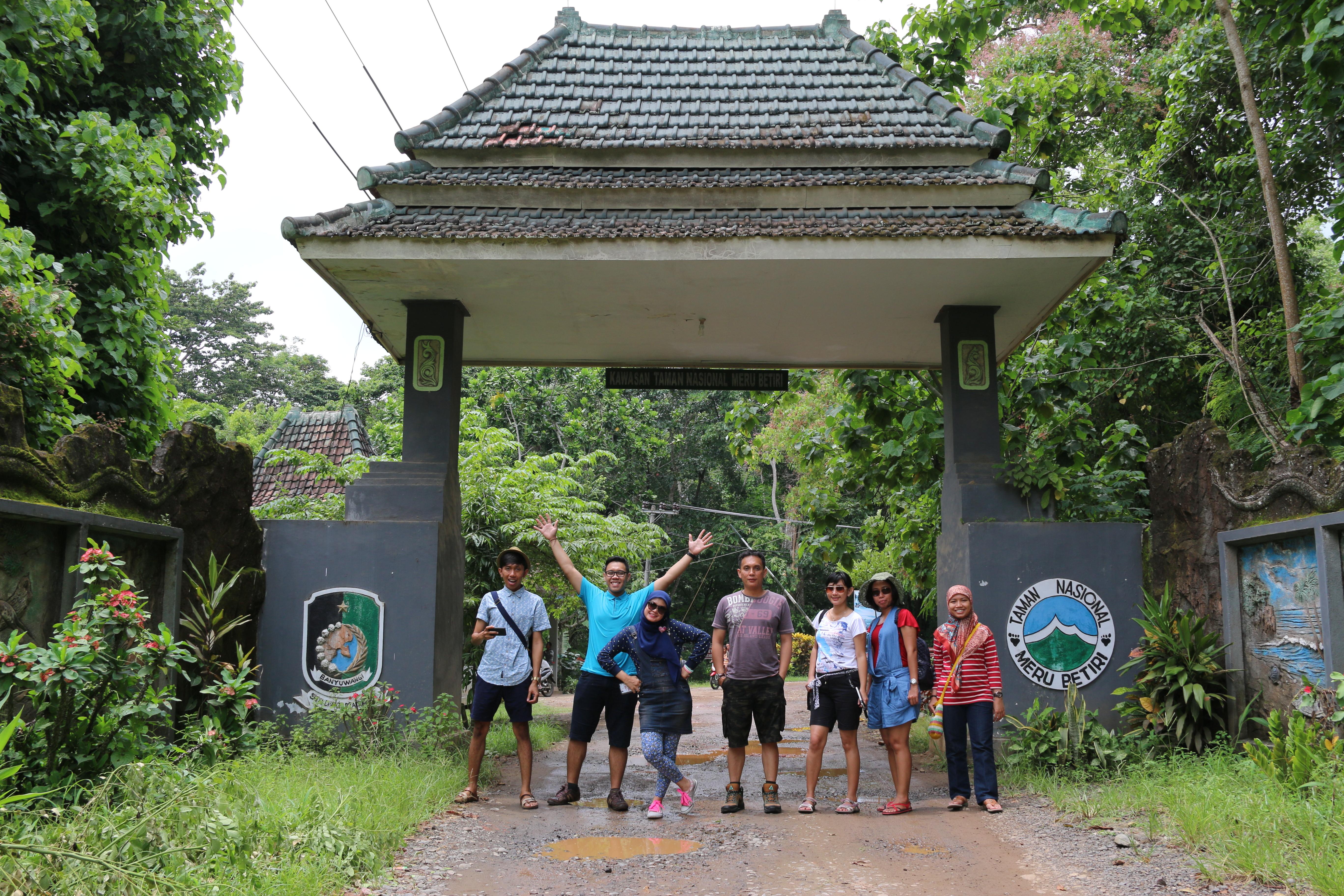 Taman Nasional Meru Betiri Pintu Masuk Kab Jember