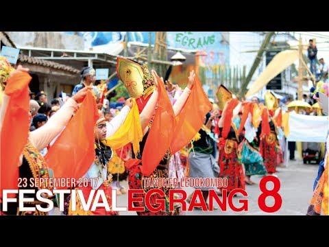 Festival Egrang 8 Tanoker Ledokombo Jember Youtube Kab