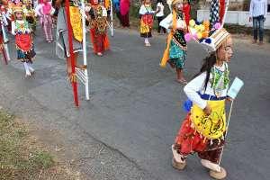 Festival Egrang Tanoker Ledokombo Jember Lokal Karya Beragam Permainan Tradisional