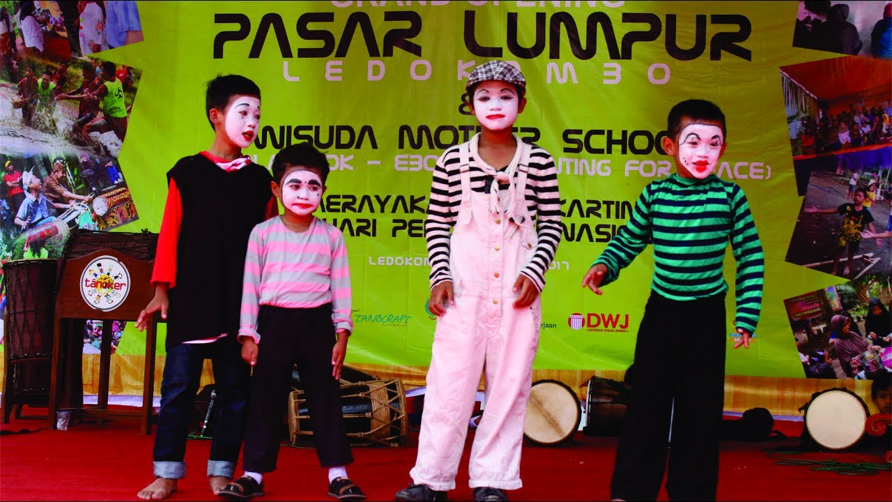 Grand Opening Pasar Lumpur Tanoker Ledokombo Jember Youtube Kab