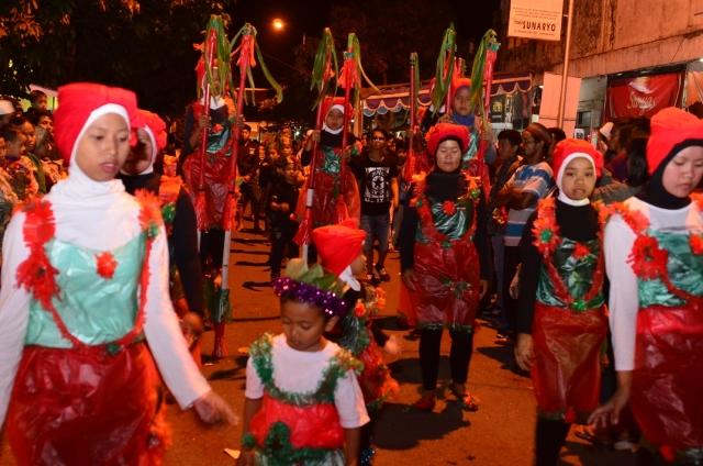 Kampung Wisata Tanoker Ledokombo Membawa Kembali Kenangan Festival Egrang Ditunggu