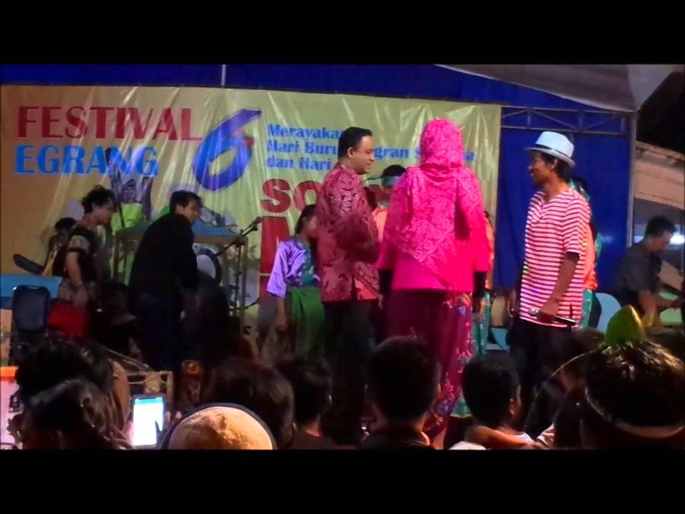 Siwi Anies Baswedan Festival Egrang 6 Tanoker Ledokombo Jember 1