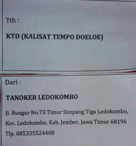 Tanoker Twitter Search Ledokombo Kab Jember