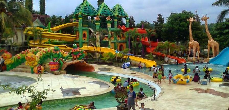 Harga Tiket Masuk Jambooland Waterpark Tulungagung Trip Jalan Waterboom Niagara