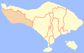 Kabupaten Jembrana Wikipedia Bahasa Indonesia Ensiklopedia Bebas Location Regency Png