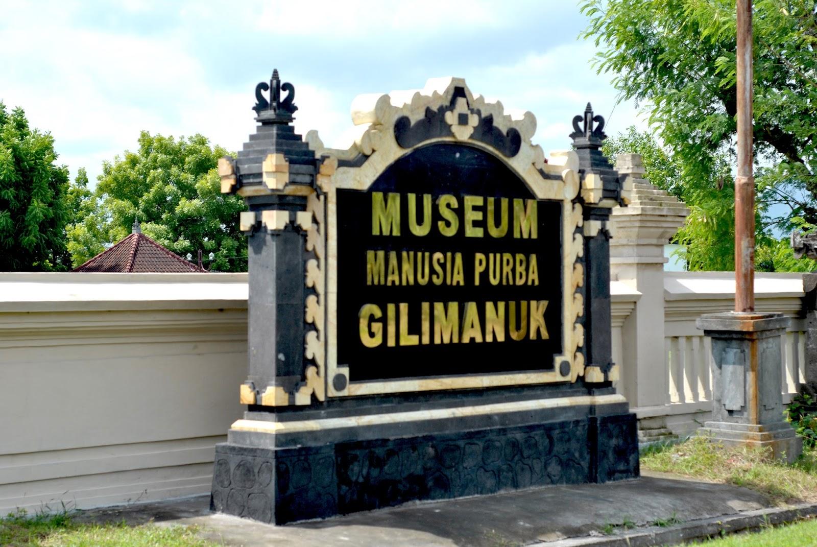 Museum Manusia Purba Gilimanuk Kelurahan Kec Melaya Tetapi Kearifan Lokal