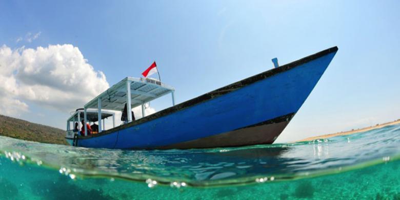 Pulau Menjangan Sekeping Surga Bali Kompas Taman Nasional Barat Barry