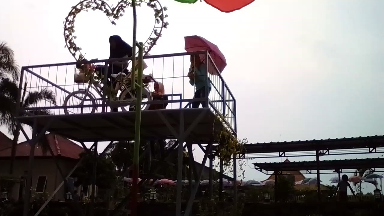 Happy Holiday Bale Tani Banjaragung Bareng Jombang Indonesia Kab