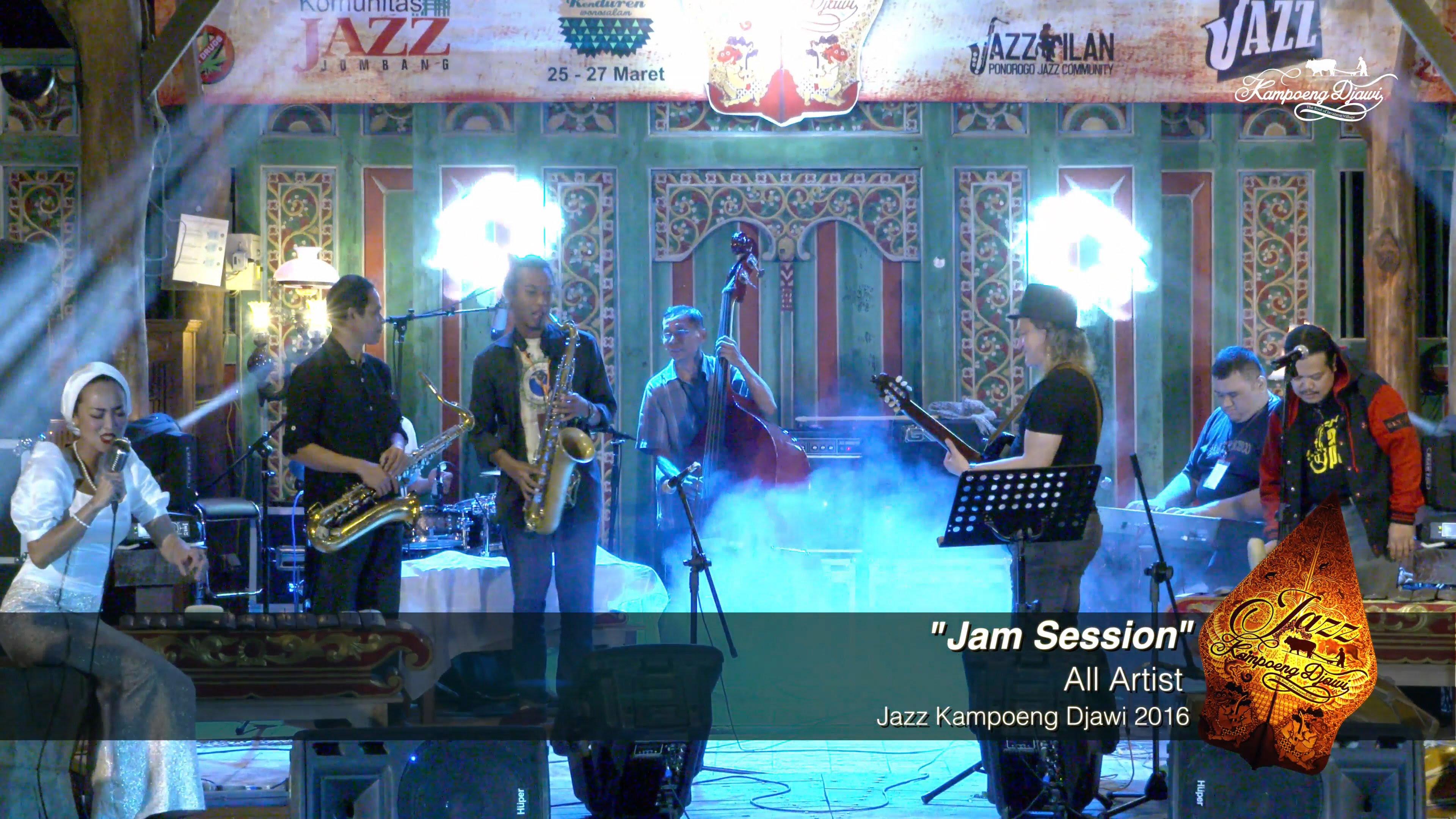 Jam Session Duke Place Jazz Kampoeng Djawi 2016 Youtube Kab
